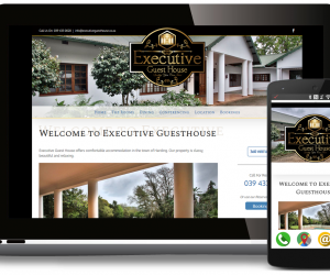 Executive Guest House – New Website & 360 Photo's